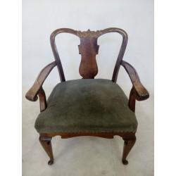 Wyjątkowy fotel chippendale...