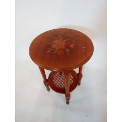 Drewniany stolik z...