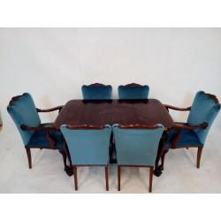 Komplet 6 krzeseł w stylu...