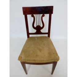 Stare krzesło secesyjne z...