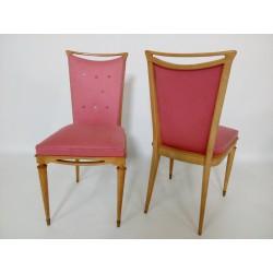 Urocze pikowane krzesła z...