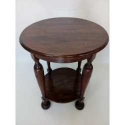Eklektyczny, okrągły stolik...