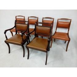 Komplet 4 krzesła+2 fotele...
