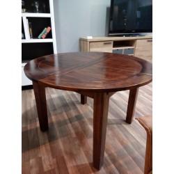 Okrągły stół rozkładany 120cm
