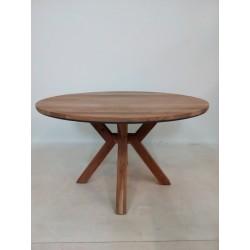 okrągły stół z egzotycznego...