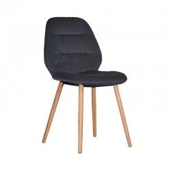 Krzesło Vita Antracyt Label51