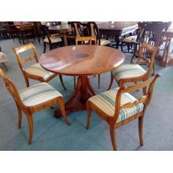 Komplet stół + 5 krzeseł...