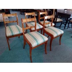 Krzesła Biedermeier 5 szt....