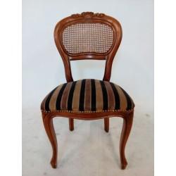 Wygodne krzesło z rafią na...