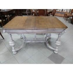 Eklektyczny stół drewniany!