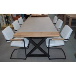 Komplet stół i 6 krzeseł w...