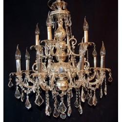 Lampa Maria Teresa srebrna...
