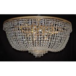 Duża lampa kryształowa...