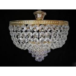 Śliczna lampa kryształowa z...