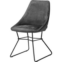 Krzesło Aiden antracyt Xooon