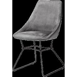Krzesło Aiden szare Xooon