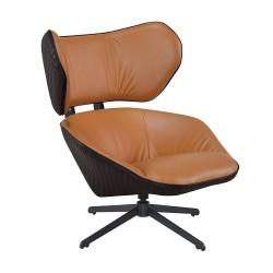Fotel obrotowy Comfort brązowy