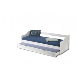 Łóżko Leonie 2 dwuosobowe...