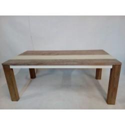 Designerski drewniany stół...