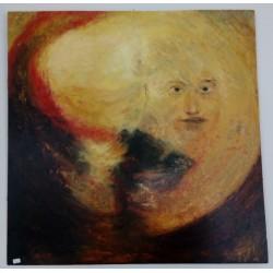 Obraz olejny na drewnianej...