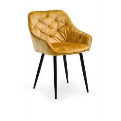 Krzesło Vicky kubełkowe welur
