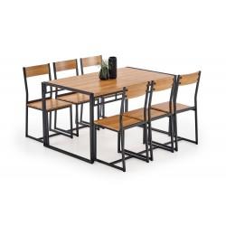 Zestaw stół i 6 krzeseł...