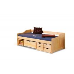 Łóżko MAXIMA 2 sosna