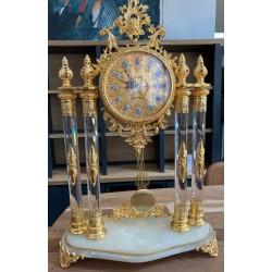 Zegar kominkowy złoty...